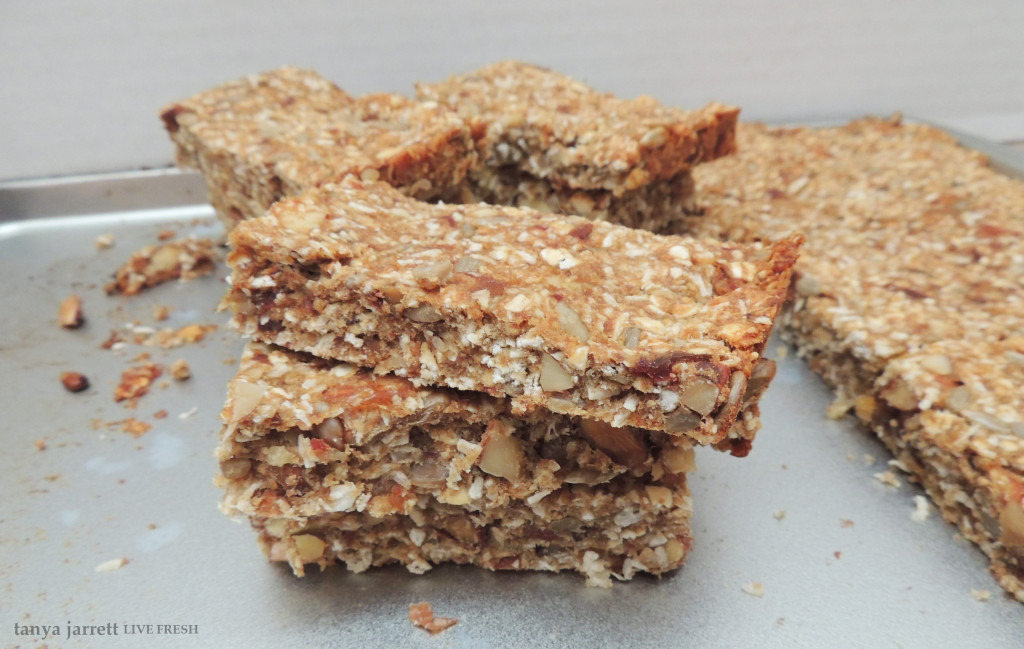 coconut date energy bars 5