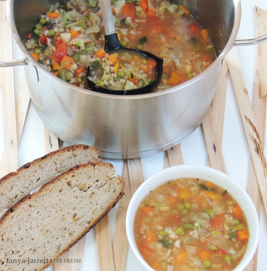 easy vegetable soup 5
